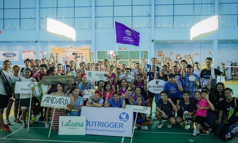 Hotel Badminton Teams Raise Funds for Phuket School