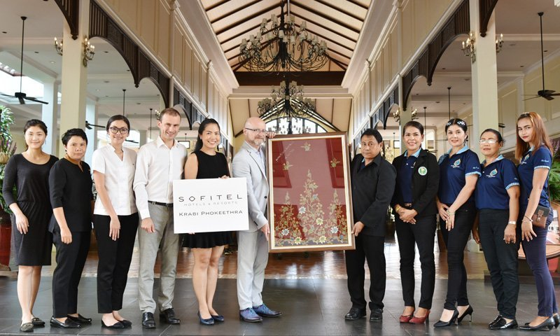 Sofitel Krabi supports local Thai spa industry with massage clothing donation