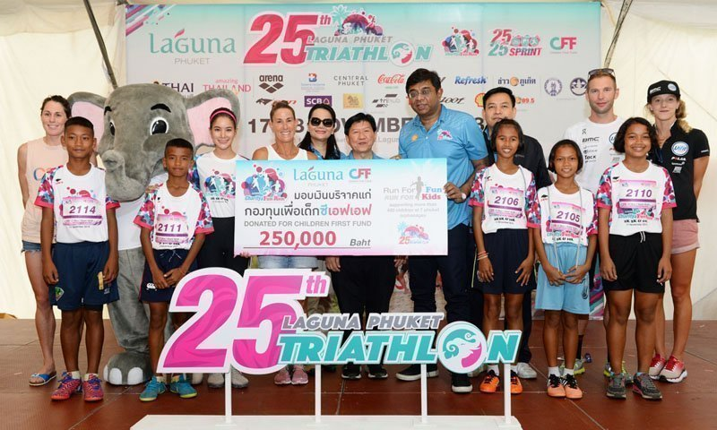 25th Laguna Phuket Triathlon to Make a Mark as Asia's Longest-standing Triathlon Race