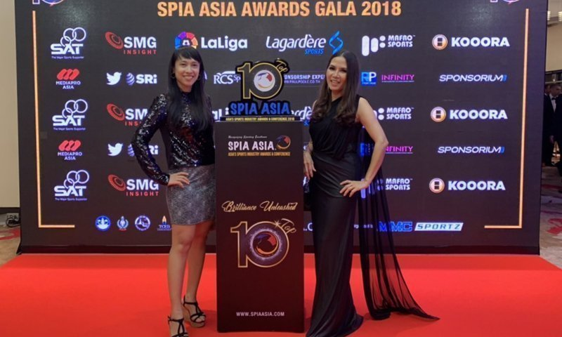 Third Time's a Golden Charm Laguna Phuket Won Gold at Sports Industry Awards Asia 2018