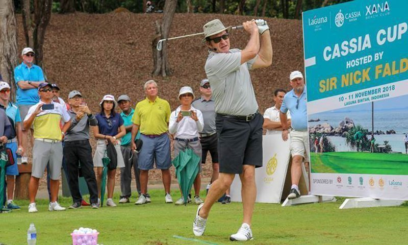 Laguna Bintan Celebrates Inaugural Cassia Cup 2018 Hosted By Golf Legend Sir Nick Faldo