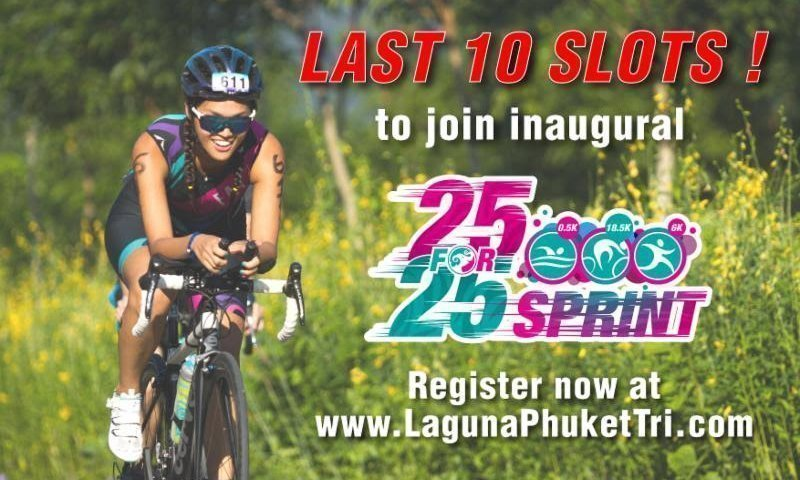 "Last 10 slots to inaugural ""25 For 25 Sprint"""
