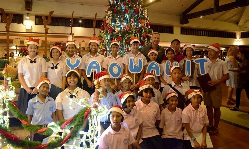 JW Marriott Phuket Resort & Spa ushers in Holiday Season with Christmas Tree-Lighting Ceremony