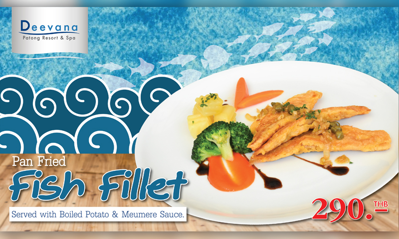 Promotion: Taste of Pan Fried Fish Fillet , Deevana Patong Resort & Spa