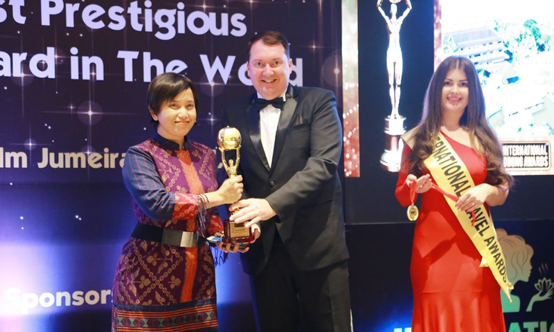 AKSARA Collection wins the International Travel Awards 2018 in Dubai