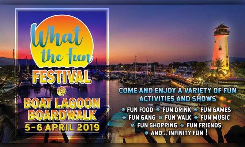 """""""What The Fun Festival"""" during 5th & 6th April, 2019"""