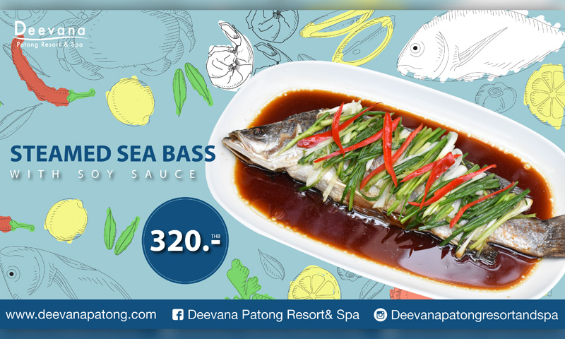 Promotion: Taste of Steamed Sea Bass with Soy Sauce, Deevana Patong Resort & Spa