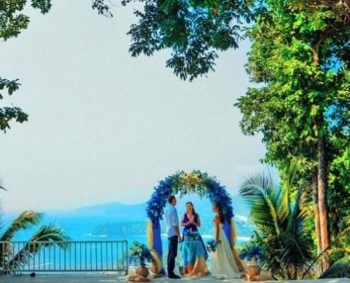 Свадебная церемония Между небом и землей