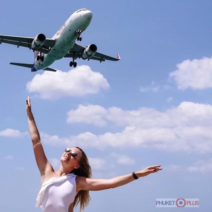 как доехать на пляж с самолетами