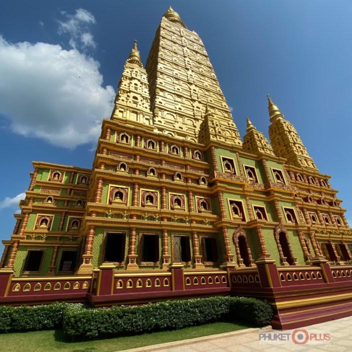 новый храм Wat Bang Tong в провинции Краби