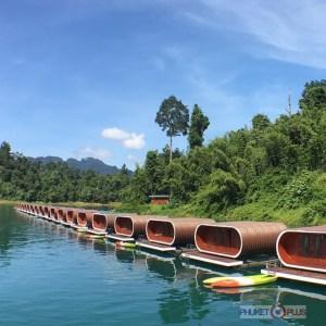 Капсульный отель на озере Чео лан
