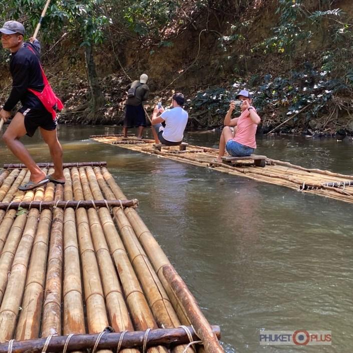 экскурсия на плотах в провинции Пханг Нга и Као лак
