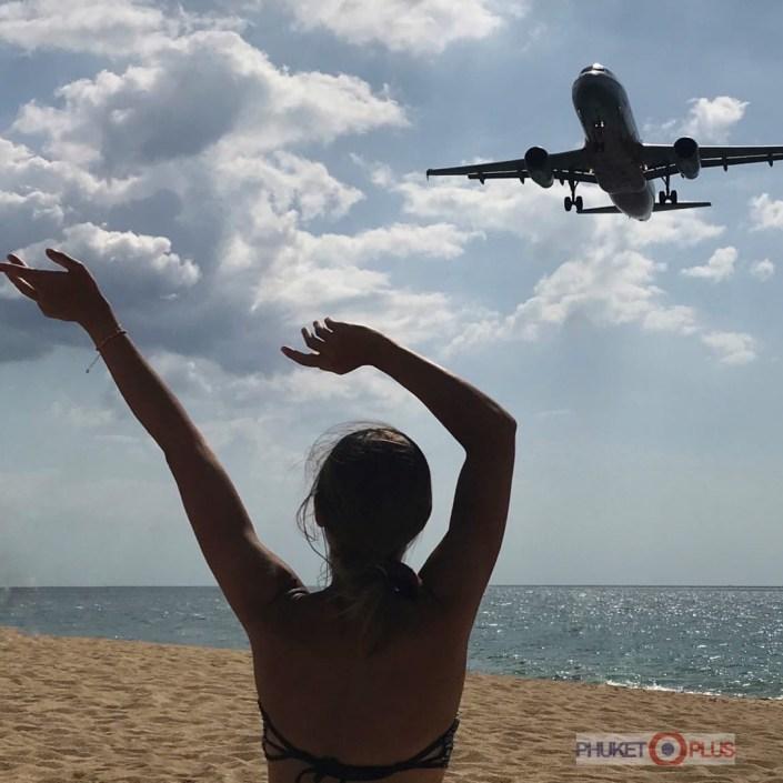 поездка на пляж с самолетами с русским гидом