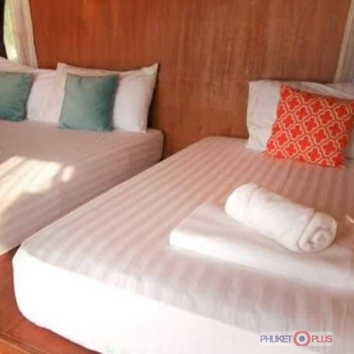 отель с кондиционером на озере Чео лан