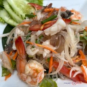 как приготовить тайский салат со стеклянной лапшой