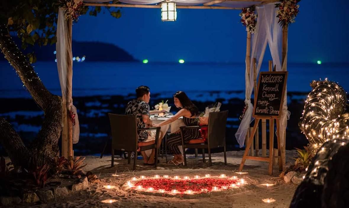 ร้านอาหารริมทะเลในภูเก็ต, Phuket dining, dinner in phuket
