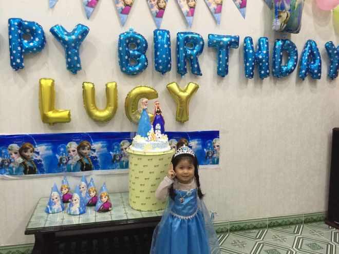 Trang trí sinh nhật Elsa