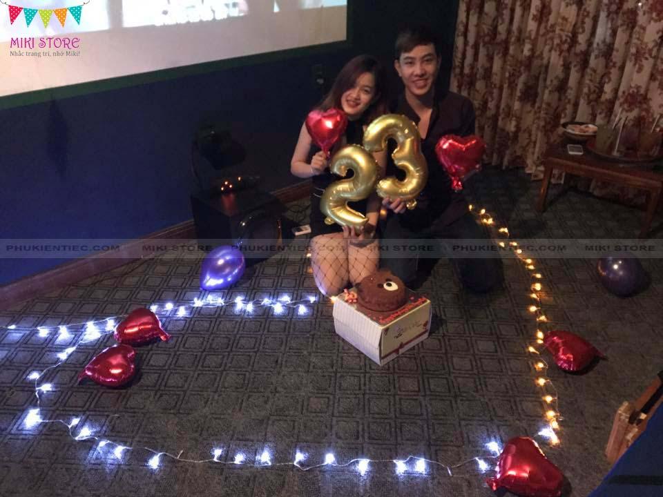 Sinh nhật lần thứ 23 lãng mạn cùng bạn trai
