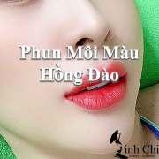 Phun Môi Màu Hồng Đào