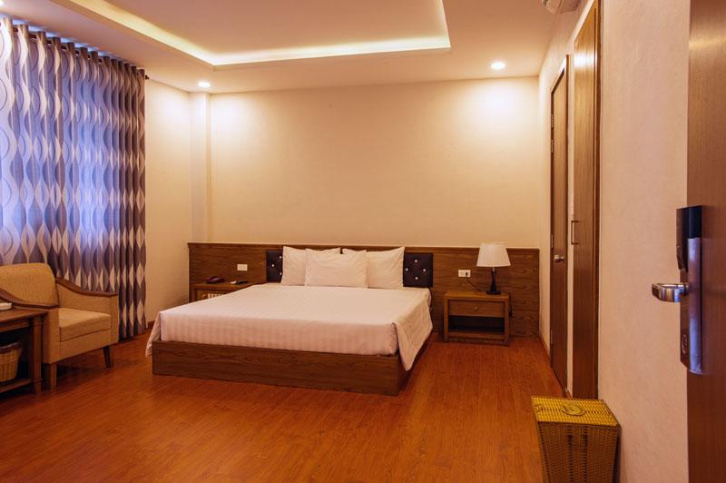 phòng nghỉ khách sạn phú thọ deluxe 1 giường