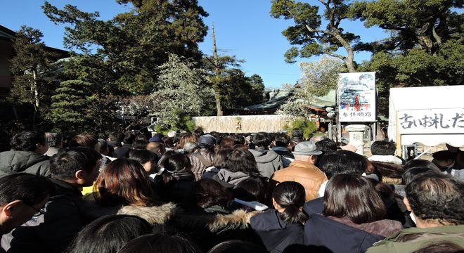久伊豆神社<初詣>境内