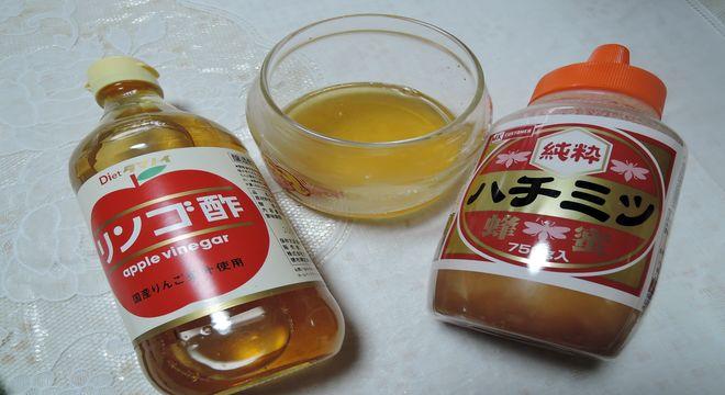 ハチミツとりんご酢