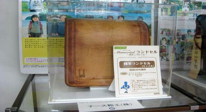 ナース鞄工 昭和36年に製作された豚革ランドセル