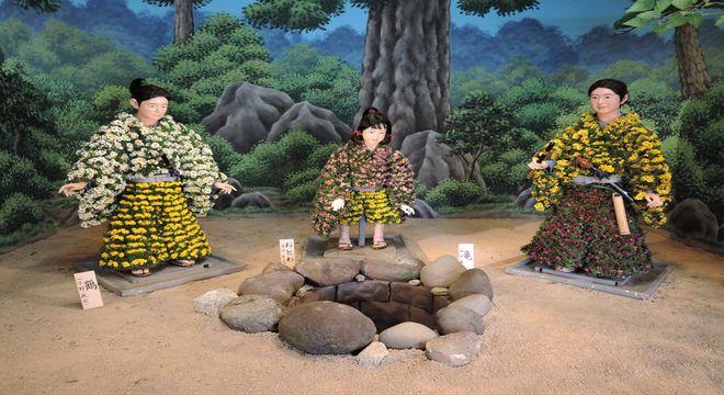 竜宮小僧|菊人形