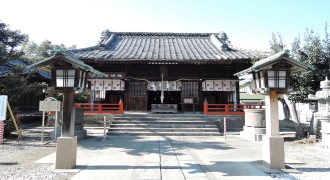 幸宮神社(拝殿)