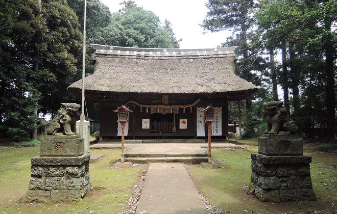 国王神社の社殿