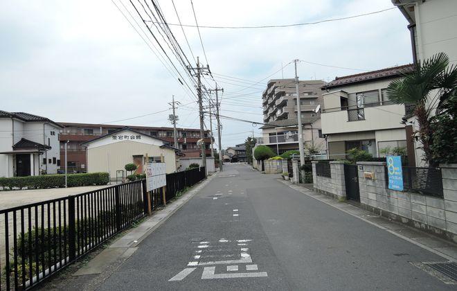 古道(蒲生愛宕町)