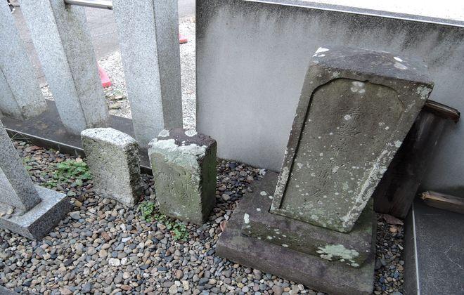 増田眠牛の墓石