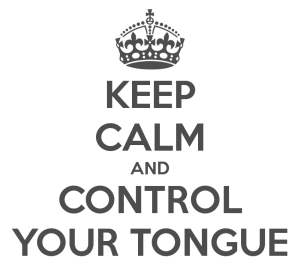 """It takes God to """"Tame our tongue"""" - All kinds of animals, birds, reptiles and creatures of the sea are being tamed and have been tamed by man, but no man can tame the tongue. It is a restless evil, full of deadly poison.  James 3:7-8"""
