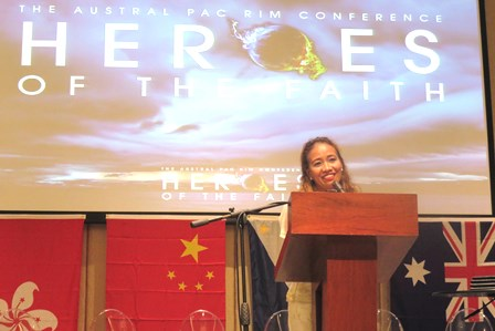 Gina's faith in God initiated the Manila Remnant Group in 2012 and now the Spirit has called her to be on the Dubai Mission Team!