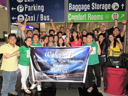 The McKeans and every APRMC Delegate received a gracious SoldOut Movement Greeting at the airport from the Metro Manila Disciples!