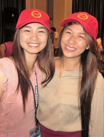 In this amazing Campus Ministry is Maruja (right) and Janien who are respectively Miss RTU 2014 and Miss RTU 2015!
