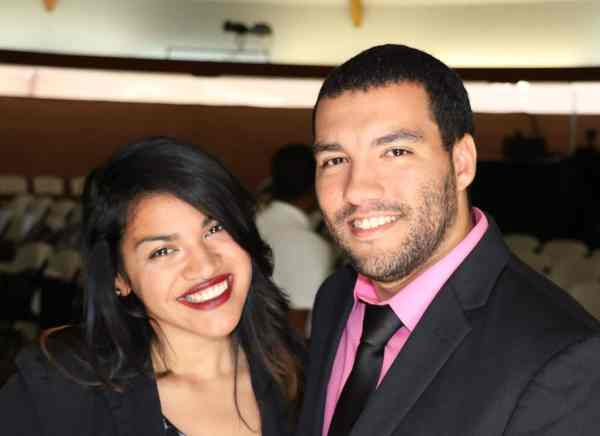 Our Joyful sister Gabrielle (Gabby) and her wonderful husband Anthony!