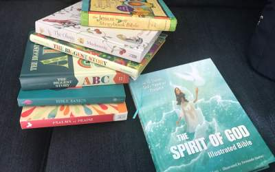 The Seven Best Books for Teaching the Bible to Toddlers
