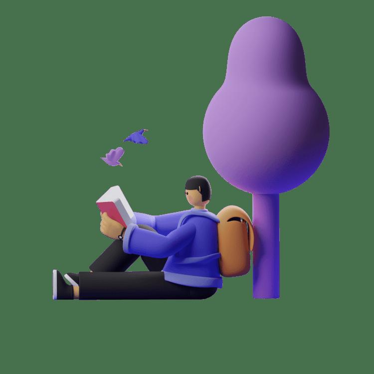 Emprendedor tranquilo asesorado por phylo