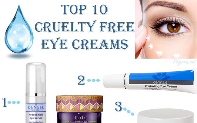 Top Ten Eye Creams
