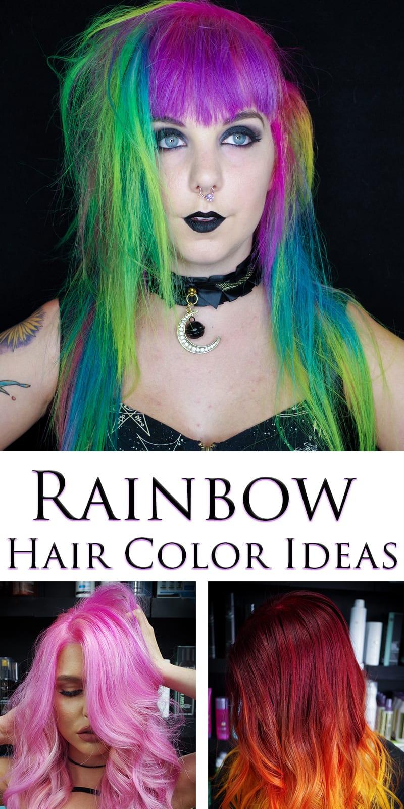 Rainbow Hair Color Ideas With Christian From IStyleXG