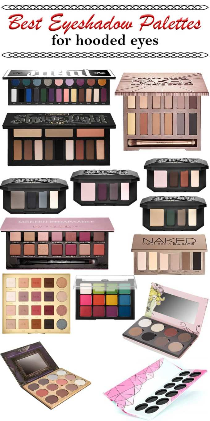 best eyeshadow palettes for hooded eyes 16 of the best
