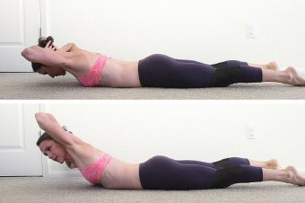 Image result for Backward Sit-Ups exercise
