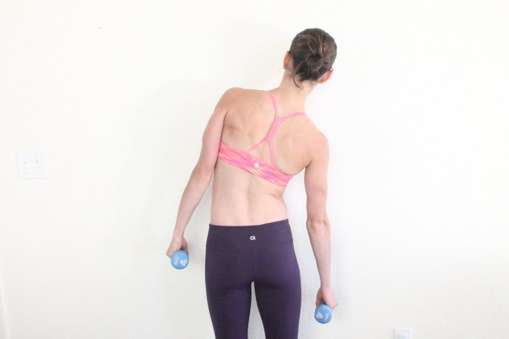 Is lower back fat your trouble zone? Try this banish back fat workout NOW!