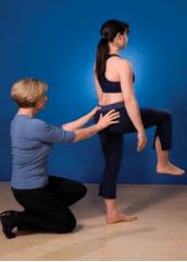 Pelvis in Hamstring Injuries single leg stand - Figure 1