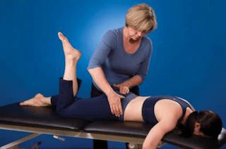 Prone knee bend - Figure 5