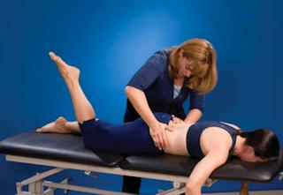 Prone knee bend - Figure 6
