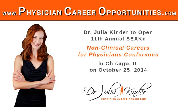Dr. Julia Kinder Opens the 2014 Non-Clinical Careers Conference