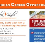 Supplemental Income Training for Physicians 2019
