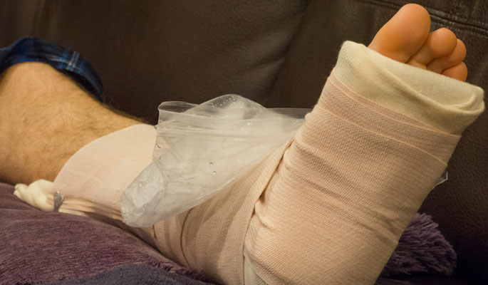 Rest Ice Compression Elevation - Pain Relief Solution